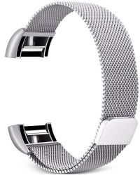 Gretmol Silver Milanese Fitbit Charge 2 Replacement Strap