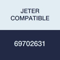 "Jeter Compatible 69702631 5100 Color Code Alpha""a"" Label 1-5 8"" X 15 16"" Red Permanent Pack Of 225"