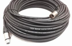 25 Foot 5-PIN Xlr DMX512 Data Cable Male To Female By Custom Cable Connection