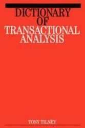 Dictionary Of Transactional Analysis paperback