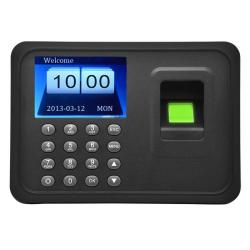 A6 2.4 Inch Color Tft Screen Biometric Fingerprint Time Attendance USB Communication Office Time Attendance Clock