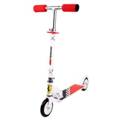 Ferrari - Kids 2 Wheel Scooter White