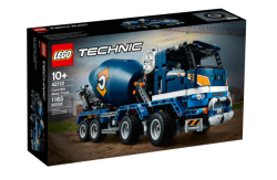 Lego Technic Concrete Mixer Truck 42112 Free Shipping Launched August 2020