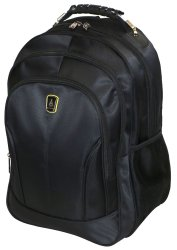 Edison Laptop Backpack Black