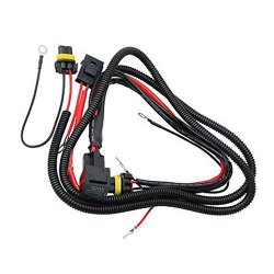 Dolity Hid Conversion Kit Universal Single Beam Relay Wiring Harness on