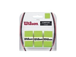 Wilson Pro Overgrip Blade Green Pack Of 3