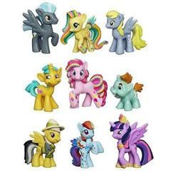 My Little Pony Friendship Is Magic Minis Set Of 9 - Daring Pony Story Ponyville Newsmaker & Soaring Pegasus