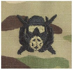 Vanguard Army Embroidered Badge Ocp Sew On Diver Special Operations Supervisor
