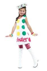 Twister Kids-costume Dress Child S 4-6 Halloween Costume - Child 4-6