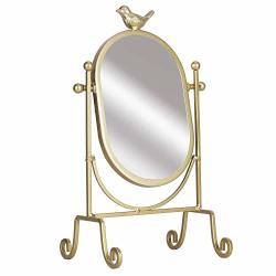 c30c04d7667e Simmer Stone Makeup Vanity Mirror Decorative Metal Framed 360 Degree  Rotatable Cosmetic Mirror Gold | R2810.00 | Haircare | PriceCheck SA