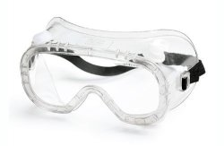 Gateway Safety 32061 Traditional Technician Impact Safety Goggle Cap Vent Clear Lens