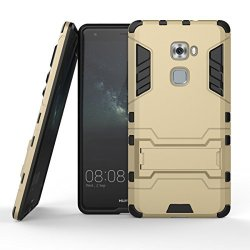 SsHhUu Huawei Mate S Case Shock Proof Cover Dual Layer Hybrid Armor Combo Protective Hard Case With Kickstand For Huawei Mate S