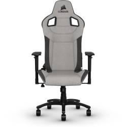 Corsair T3 Rush Fabric Gaming Chair Gray charcoal