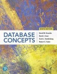 Database Concepts Paperback 9TH Edition