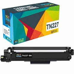 Do It Wiser Compatible Toner Cartridge Replacement For Brother TN227 TN223 TN227BK For MFC-L3770CDW HL-L3210CW HL-L3230CDW HL-L3270CDW HL-L3290CDW MFC-L3710CW MFC-L3750CDW High Yield Black