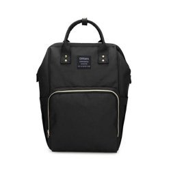 Mummy Bag Multi-function Waterproof Travel Backpack - Black