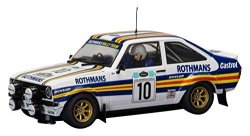 Scalextric C3749 Ford Escort MK2 Rothmans Acropolis Rally 1980 Slot Car 1:32 Scale