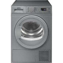 Smeg 60CM 8KG Silver Freestanding Heat Pump Tumble Dryer - DHTS81LSA