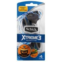 Schick Xtreme 3 4'S Sensitive Tubs