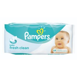 Pampers - Fresh Baby Wipes 64S