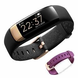 Siroflo Fitness Tracker Hr Health Tracker Watch With Heart Rate Female Physiological Period Sleep Monitor Bp Call sms Remind Waterproof Pedometer Smart Watch For Kids