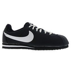 Nike Youths Cortez Black White Nylon Trainers 37.5 Eu