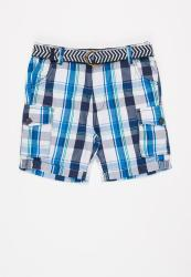 Checked Short With Belt Assorted B3 Pak