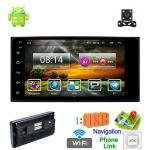 Double Din Car Stereo With Bluetooth Android 8.1 Universal Radio 7 Inch HD Touch Screen Car Multimedia MP5 Player Gps Navigation