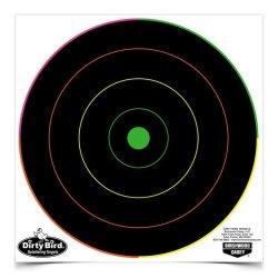 """Birchwood Casey Dirty Bird 8"""" Multi-color Bull's-eye Targets"""