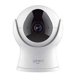 Geeni Vision 720P Smart Wi-fi Camera Home Security System - No Hub Required - White