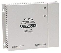 Valcom V-2901A Enhanced Single Door Answering Device That Activates Door Locks