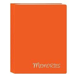 "Pioneer Photo Albums I-46M OG 36 Pockets Hold Memories MINI Photo Album Orange 4"" X 6"