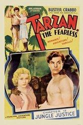 1ART1 GmbH Tarzan Poster Adhesive Photo Wall-print - The Fearless 1933 71 X 47 Inches