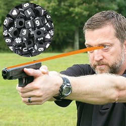 CHRIS Sajnog Advanced Focus String - Firearms Vision Training Tool - Train Your Eyes At Home To Shoot Faster With Both Eyes Open