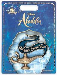 Pins Genie Lamp Aladdin - Live Action Film Wishes Come True