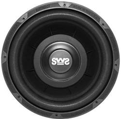 Earthquake Sound SWS-10X Shallow Woofer System 10-INCH Car Subwoofer 4-OHM Single