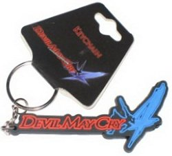 NECA Devil May Cry 4 Logo Rubber Keychain 44865