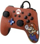 PowerA 1506261-01 Wired Controller For Nintendo Switch - Mario