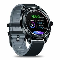 Zeblaze Neo Smart Watch Activity Tracker Heart Rate Monitor Blood Pressure Monitor Female Health Monitor 1.3 Inch Full Touch Screen IP67 Waterproof Bluetooth 4.0 Compatible Android Ios