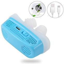 3 IN 1 Electronic Anti Snoring Devices Air Purifier 2019 Upgraded Natural Solution To Prevent Snoring And Purify Breath Air PM2.