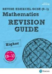 Revise Edexcel Gcse 9-1 Mathematics Higher Revision Guide With Online Edition