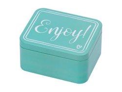Colour Kitchen Metal Storage & Gift Box Enjoy