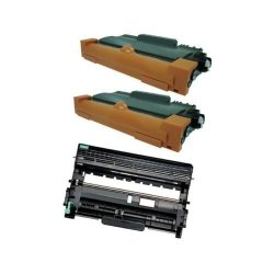 Brother 2 TN450 Toner + 1 DR420 Drum For MFC-7360 MFC-7460 MFC-7860 DCP-7060 Up To 2 600 Pages At 5% Coverage For TN450 Toner Cartridge 12 000 Pages At 5% Coverage For DR420 Drum