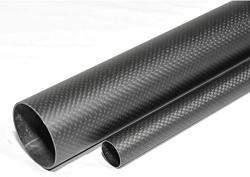USA Abester 1PCS Carbon Fiber Tube Od 20MM X Id 17MM X 1000MM 3K Matt Plain Roll Wrapped Rod Bearing Pole H