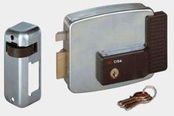 Cisa Electronic Rim Lock Lh In Open