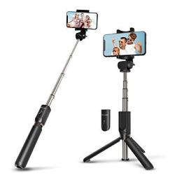 Selfie Stick Bluetooth Blitzwolf Extendable Tripod With Wireless Remote For Iphone X iphone 8 8 Plus iphone 7 7 Plus iphone 6 Pl