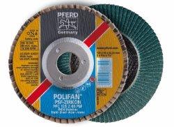 PFERD Polifan Wheels Pfc 180-22 Z60 Psf -zircon