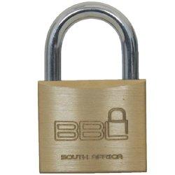 BBL Brass Padlock 60MM Ka