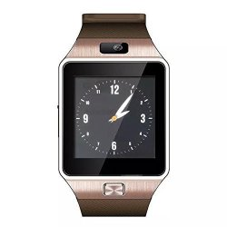 SHENZHEN MODEX TECHNOLOGY CO., LTD Hongyu 2017 Latest Bluetooth Smart Watch DZ09 1.56 Inch Touch Screen Camera Sim Card Wearable Sport Wristwatch For Iphone samsung Sync Android+ Ios Smart Phones Gold