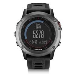 Fenix Garmin 3 Gps Fitness Watch Gray Certified Refurbished